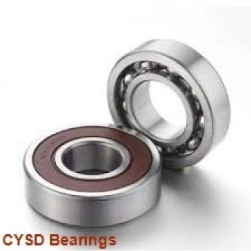 28,575 mm x 63,5 mm x 15,875 mm  CYSD 1652 deep groove ball bearings