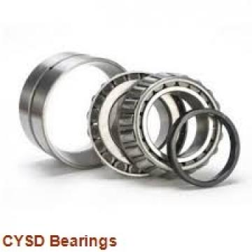28,575 mm x 63,5 mm x 15,875 mm  CYSD 1652-2RS deep groove ball bearings