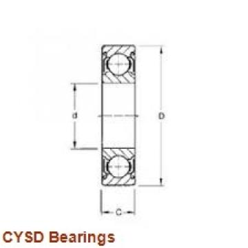 85 mm x 140 mm x 41 mm  CYSD 33117 tapered roller bearings