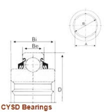 11,112 mm x 28,575 mm x 9,525 mm  CYSD 1615-2RS deep groove ball bearings