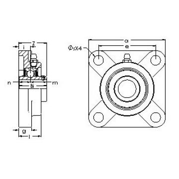 AST UCF 207-23G5PL bearing units