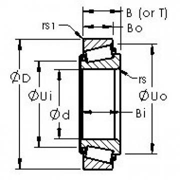 AST 9081/9196 tapered roller bearings