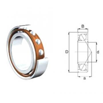 25 mm x 52 mm x 15 mm  ZEN 7205B-2RS angular contact ball bearings
