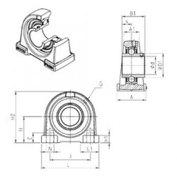 SNR UCPA210 bearing units