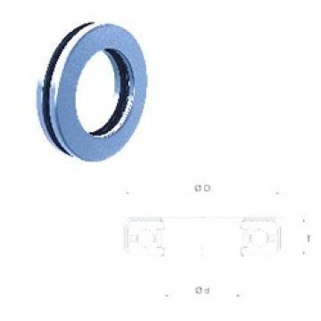 Fersa F15091 thrust ball bearings
